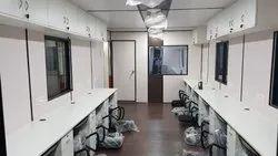 Steel Portable Office Cabin