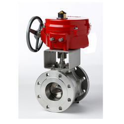 Regulating Ball Valve