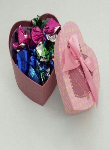 Round, Square Multicolor Heart Chocolate Box, Rs 299 /piece | ID ...