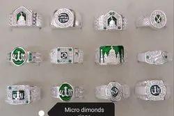 AJ Dimond Rings MICRO DIMONDS RINGS, for Regular Wear