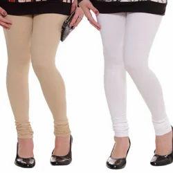 Plain Churidar Leggings