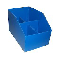 Corrugated Plastic Box for Industrial, Capacity: 1-8 kg
