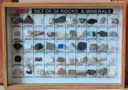 Rocks and Minerals Model