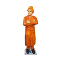 Multicolor Swami Vivekananda Standing Statue