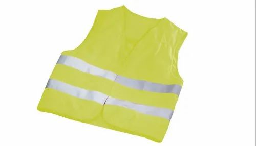 Polyester Fluorescent Jacket ( 60 GSM  -5%, 2H with 2 '  Tape)