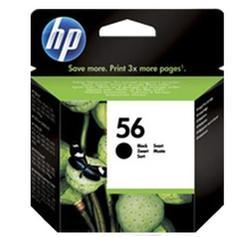 HP 56 Black Original Ink Cartridge (C6656AA)