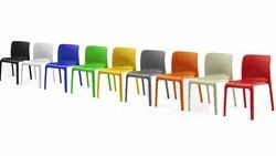 Emo Coloured Plastic Chair