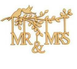 Natural Box Invite Wooden Wedding Card