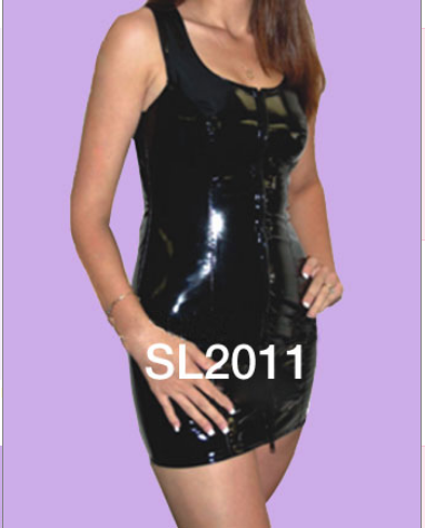 Leather Vinyl Dress SL2011