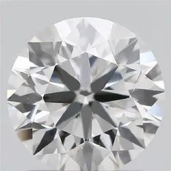 1.22ct Lab Grown Diamond CVD E VVS2 Round Brilliant Cut IGI Certified Stone