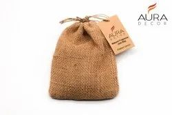 AuraDecor Car Freshener Hanging Jute Bag