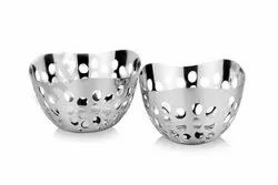 Stainless Steel Dry Fruit Bowls