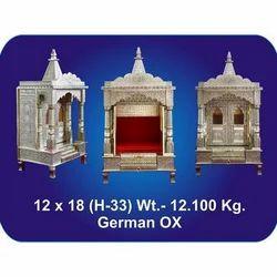 12x18x33 Inch German Oxidized Temple