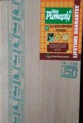 Poplar Gurjan Duro Plywood, Thickness: 6-25 Mm, Size: 8x4 Feet