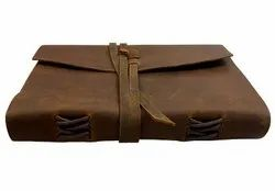 Custom Color Handmade Paper Leather Executive Diaries