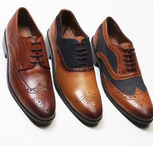 a1830a51495fe3 Buwch Men Oxford Pure Leather Shoe, Size: 6 And 10, Rs 1250 /pair ...