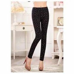 D.S. Fashion Printed Slim Cotton Legging