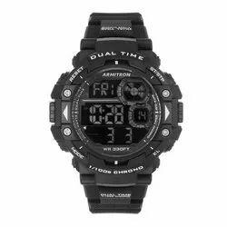 Armitron Chrono Pro 54 mm 40-8309BLK Digital Chronograph Black Resin Strap Watch
