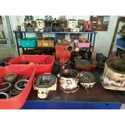 Powder Coated Radial Hydraulic Motor Spare Parts