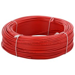 Polycab Red PVC House Electrical Wires, Crossectional Size: 4 Sqmm