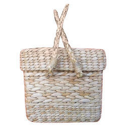 Crafts And You Handmade Cane Kauna Picnic Basket