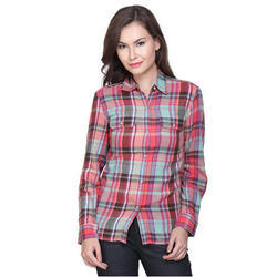 Ladies Check Shirt