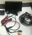 Truck Bus Car Lcd Monitor With Camera 25mtr Cable