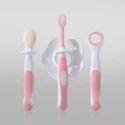 Buddsbuddy 3 Stage Oral Care Set 3pcs , Pink (set Of 50)