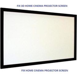 Fixed 3D Projector Frame Screen