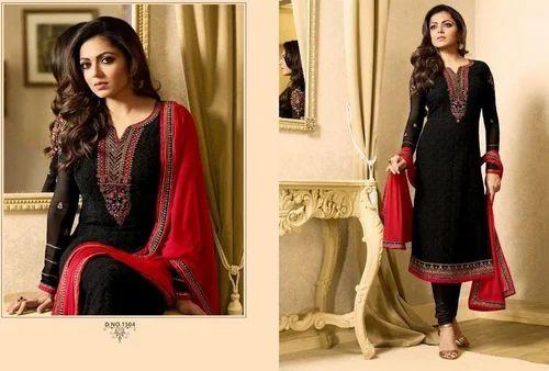 19581ca7f9 Formal Wear And Party Wear Ladies Designer Georgette Salwar Suit, Rs ...