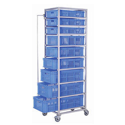 Vegetable Tray Trolley