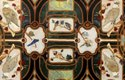 Table Top With Semi-Precious Gemstones Inlay Work