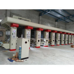Multicolor Rotogravure Printing Machines