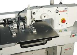 Automatic Cap Visor Quilting Machine