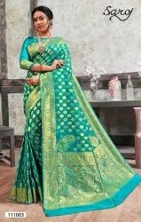 Stylish Banarsi Silk Saree
