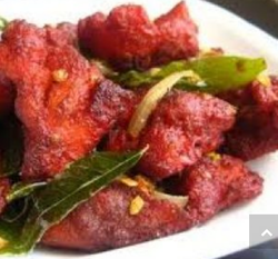 Chicken Tikka Chat