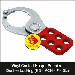 Premier Vinyl Coated Lockout Hasp - Double Locking
