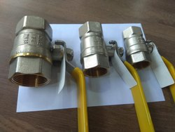 Forged Brass Ball Valve Silver Gold Finish