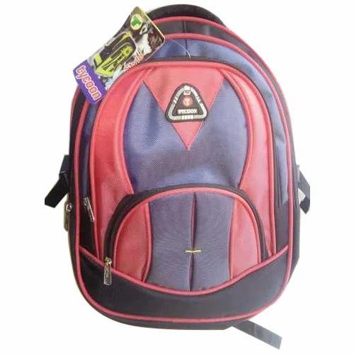 8ed18fba03 Polyester Plain School Bags