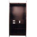 40 Inches Brown Double Door Almirah