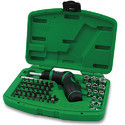 High-Torque Grip Ratchet Screwdriver, Bit & Socket Set GAAI5401