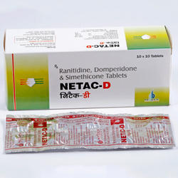 Ranitidine, Domperidone and Simethicone Tablets