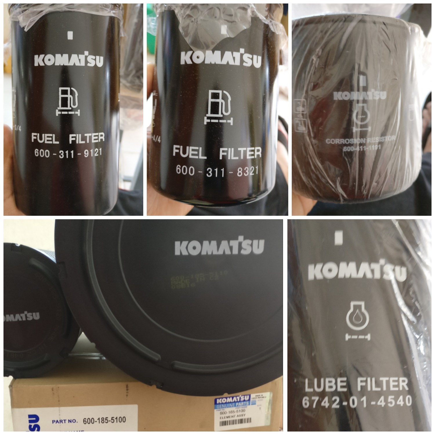Komatsu PC210 FILTERS 600-319-3750,600-319-5611,6736-51-5142 at Rs 999/pack  | Excavator Parts | ID: 15697396148