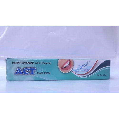 Act Charcoal Tooth Paste, For Personal, Pack Size: 100 Gram