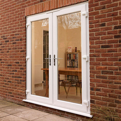 Upvc French Door Upvc Door Sba Inteeriors Coimbatore Id