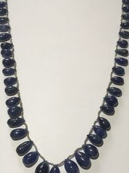 Blue sapphire mala