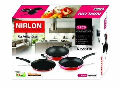 Red Nirlon Kitchen Sets