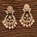 Indo Western Gold Plated Trendy Earring 9006