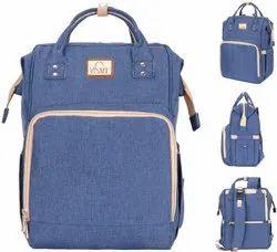 Blue VISMIINTREND Diaper Backpack Waterproof Baby Bag
