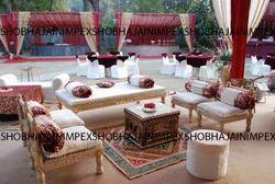 Wooden Sangeet Furniture